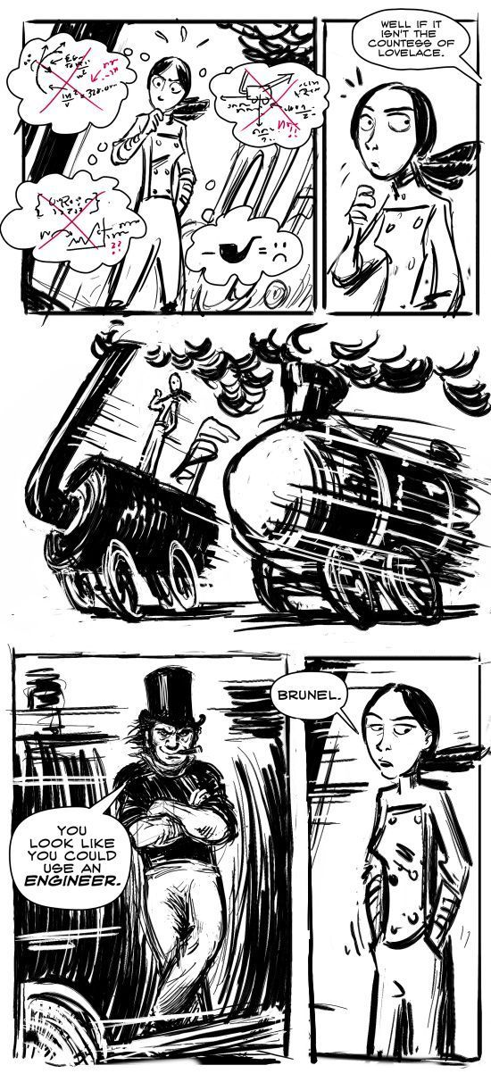 Lovelace and babbage vs the economy